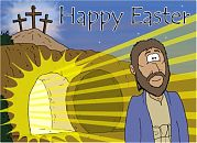 Easter card - The empty tomb