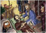 Mark 02 - Jesus and paralytic - Scene 05 - Healed