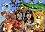 Adam Eve & animals 980x706px col