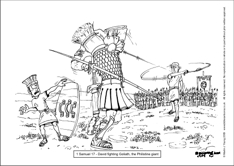 09 1 Samuel 17 - David fighting Goliath.jpg
