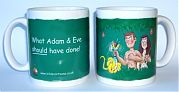 What Adam & Eve should have done - mug