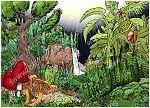 Genesis 01 - The First 7 Days - Scene 05 - Plants