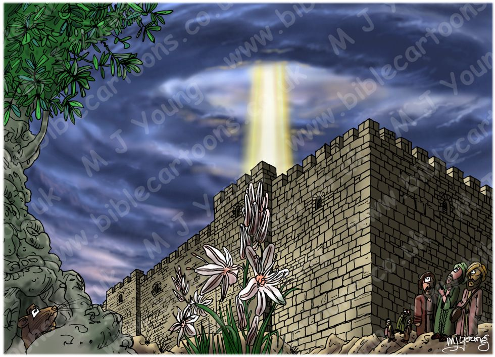 Acts 02 - Pentecost - Scene 02 - Outside Jerusalem
