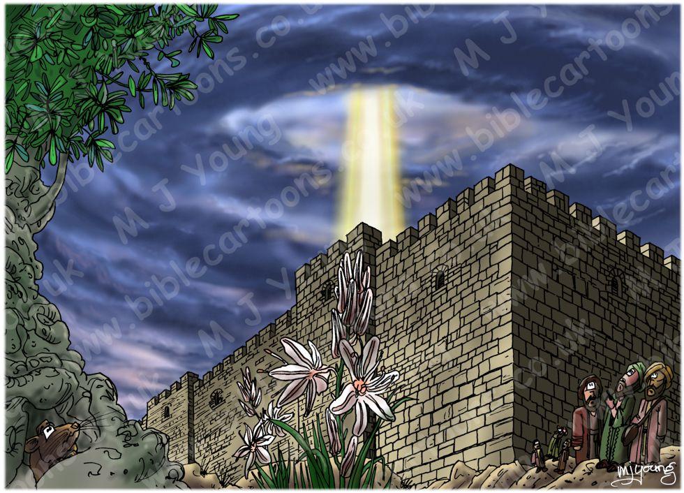 Acts 02 - Pentecost - Scene 02 - Outside Jerusalem