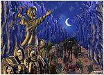 Exodus 14 - Parting of the Red Sea - Scene 10 - Walking through (version 02)