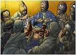 Matthew 26 - The Lord's Supper - Scene 05 - Bread