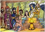 Exodus 14 - Parting of the Red Sea - Scene 02 - Pharaoh's court