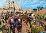 Exodus 14 - Parting of the Red Sea - Scene 04 - Pharaoh's army