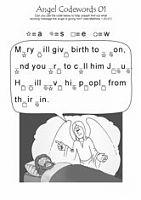 Angel codewords 01