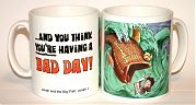 Bad Day - Jonah & Big Fish mug