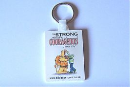 Keyring - Courageous lion