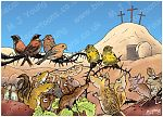 Easter animals 980x706px - brown