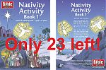 Nativity Activity Book 01 - cover spread