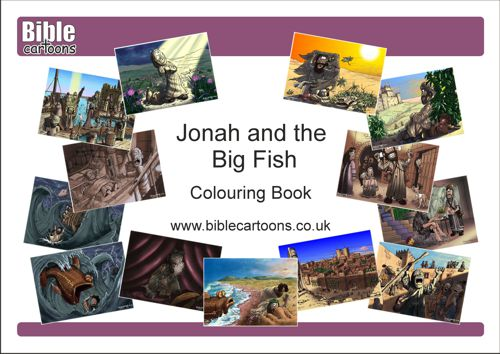 Jonah A4 e-Colouring book