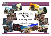 Jonah A4 colouring book