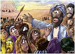Exodus 14 - Parting of the Red Sea - Scene 06 - Terrified