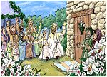 Matthew 01 - The Nativity - Scene 03 - Joseph marries Mary