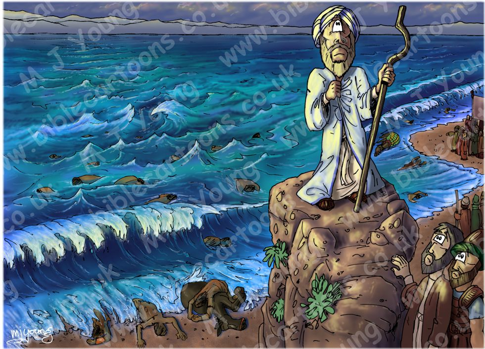 Exodus 14 - Parting of the Red Sea - Scene 14 - Trust