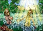 Matthew 03 - Jesus' Baptism - Scene 07 - Dove