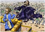Matthew 04 - The temptation of Jesus - Scene 04 - Temple