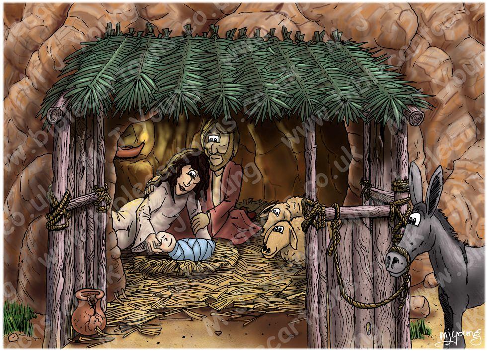 Matthew 01 - The Nativity - Scene 04 - Jesus' birth