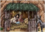 Matthew 01 - The Nativity - Scene 04 - Jesus' birth