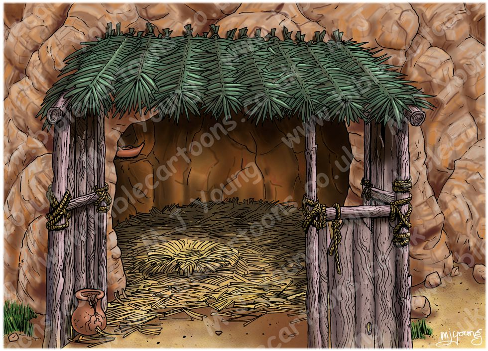 Matthew 01 - The Nativity - Scene 04a - Just a stable?