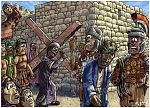 Mark 15 - The Crucifixion - Scene 02 - Simon of Cyrene