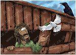 Genesis 08 - The Flood - Scene 06 - Raven & Dove