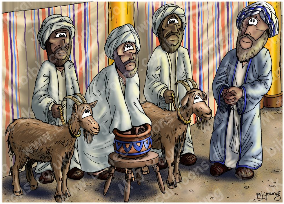 Leviticus 16 - The Scapegoat