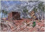 Matthew 07 - Parable of wise and foolish builders - Scene 05 - Swept away