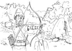 1 Samuel 20 - Jonathan's archery