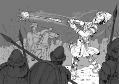 Ecclesiastes 03 - Hammer throwing - Greyscale