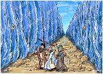 Exodus 14 - Parting of the Red Sea - Scene 10 - Walking through (version 01)