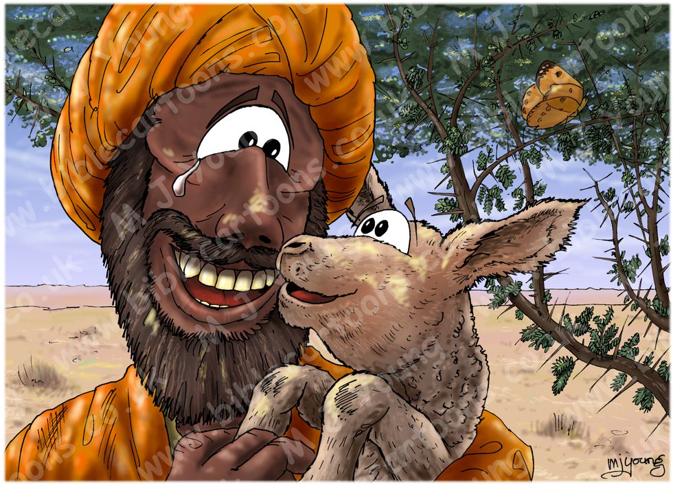 Matthew 18 - Parable of lost sheep - Scene 04 - Cherished