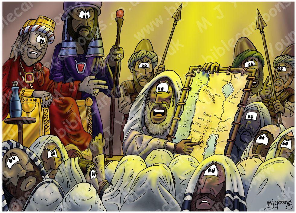 Matthew 02 - The Nativity - Scene 06 - Herod's meeting