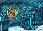 Matthew 02 - The Nativity - Scene 09 - Gifts (Blue version)