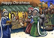 Nativity - Presenting Gifts - 251x163 72dpi