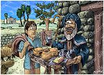 1 Samuel 17 - David and Goliath - Scene 02 - Jesse sends David