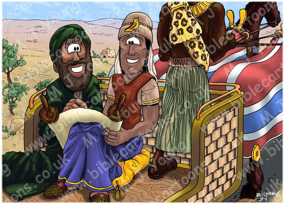 Acts 08 - Philip and the Ethiopian eunuch - Scene 03 - Instruction