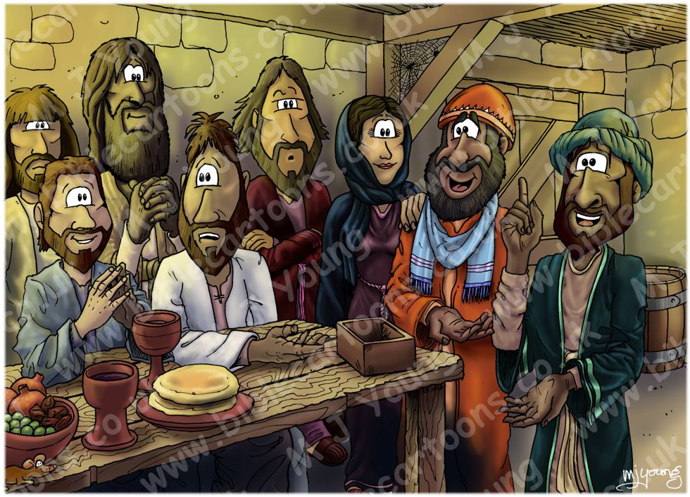 Acts 09 - Paul in Jerusalem - Scene 01 - Advocate