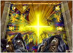 Mark 15 - Death of Jesus - Scene 02 - Temple curtain torn