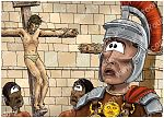 Mark 15 - Death of Jesus - Scene 03 - Centurion's confession