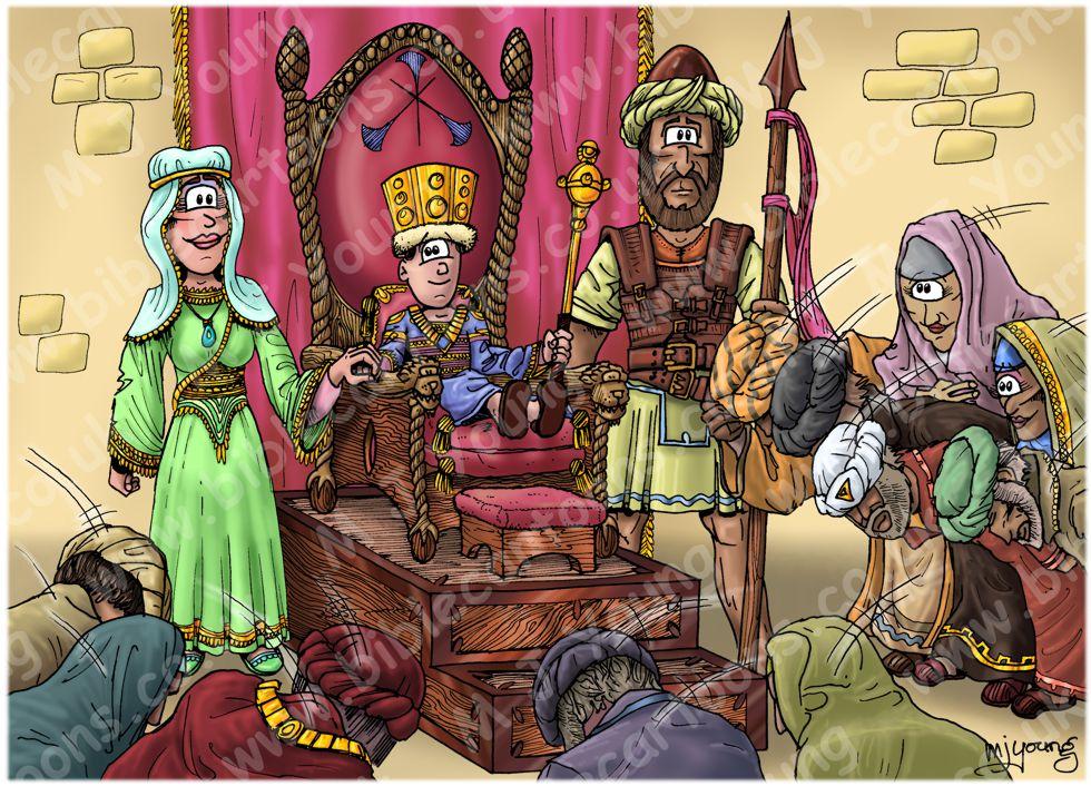 2 Kings 21 - King Josiah - Scene 01 - 8 years old