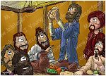 Mark 14 - The Lord's Supper - Scene 06 - Bread
