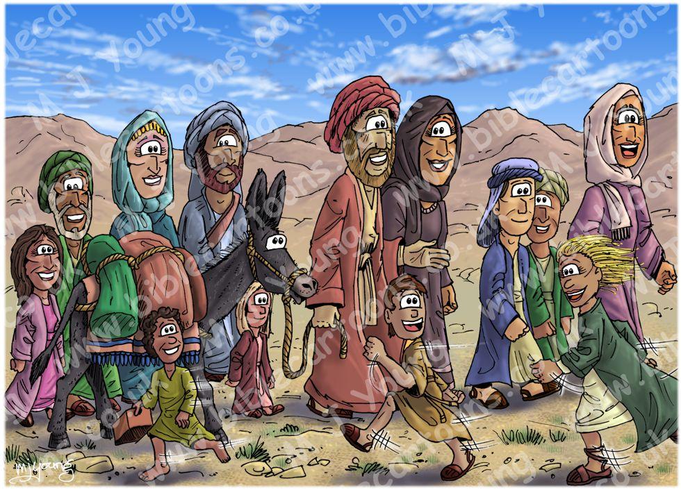 Luke 02 - Jesus' childhood - Scene 01 - Going to Jerusalem