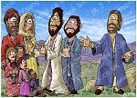 Mark 10 - Jesus blesses children - Scene 01 - Jesus' rebuke