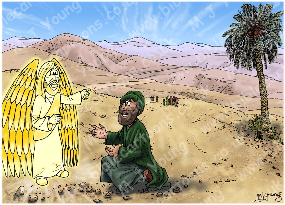 Acts 08 - Philip and the Ethiopian eunuch - Scene 01 - Road
