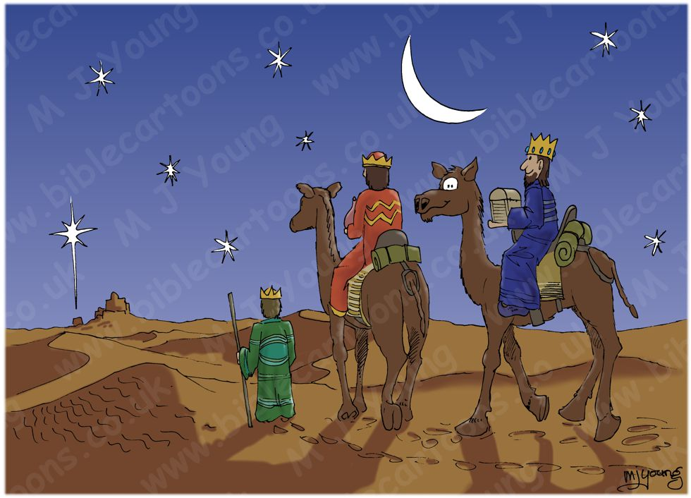 Matthew 02 - The Nativity - 3 wise men