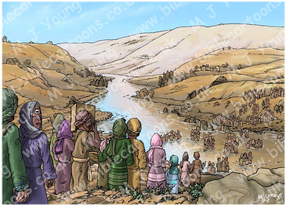 Acts 02 - Pentecost - Scene 10 - 3000 Baptised
